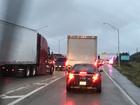 BREAKING: Jackknifed semi truck on I-95 SB