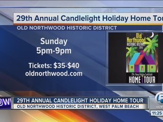 Old Northwood holiday candlelight home tour
