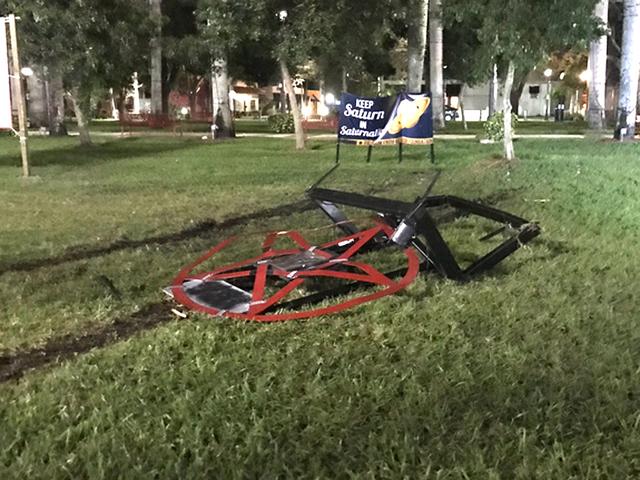 Vandals Continue to Target Satanic Display