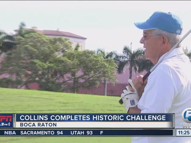 Collins Completes Historic Feat At Boca Resort