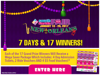 Win one of 17 South Florida Fair prize packs