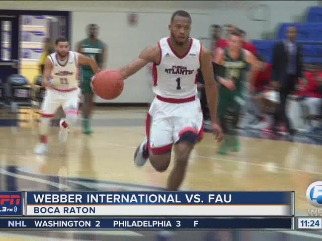 FAU Rolls Past Webber International