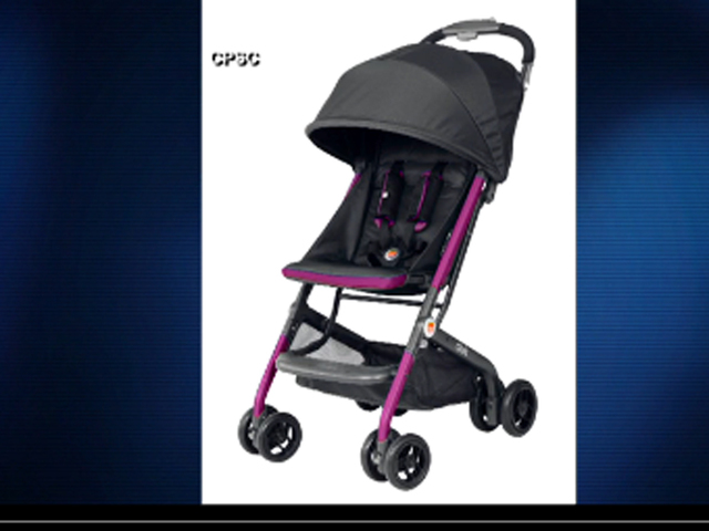 Aria Child recalls strollers for cut, fall hazards