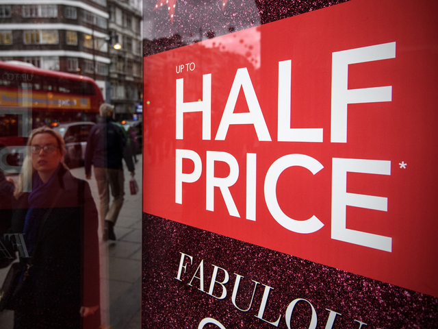 Shoppers Hit The Stores For Day After Christmas Shopping