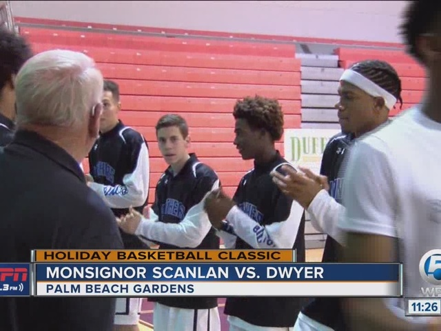 Dwyer Knocks Off Monsignor Scanlan