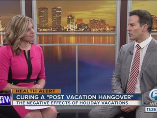 Dr. Soria: Cure a post-vacation hangover