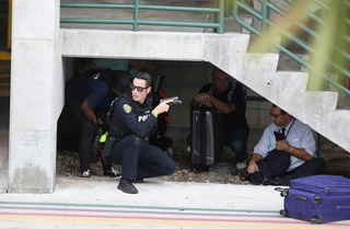 Fort Lauderdale airport mass shooting incident