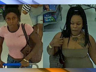 Women suspected of Walmart robbery sought