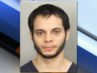 Accused airport shooter has few jail visitors