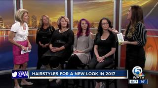 Hairstyles for a new look in 2017