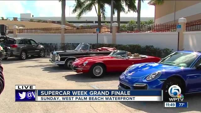 SuperCar show in West Palm Beach