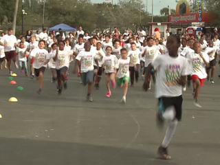 Kids get active at the South Florida Fair