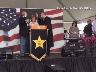 Palm Beach County Sheriff Bradshaw sworn in