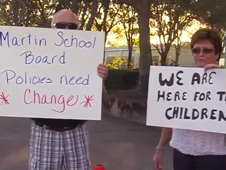 Parents protest Martin County School District