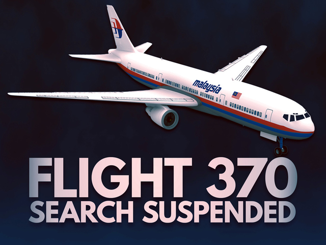 MH370 search ends after 3 years with no plane- few answers