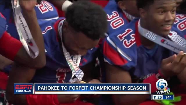 Pahokee to Forfeit Season