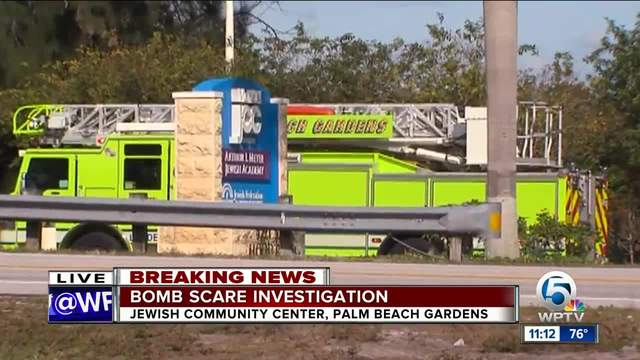 Bomb scare over all clear given at mandel jewish - Palm beach gardens police department ...