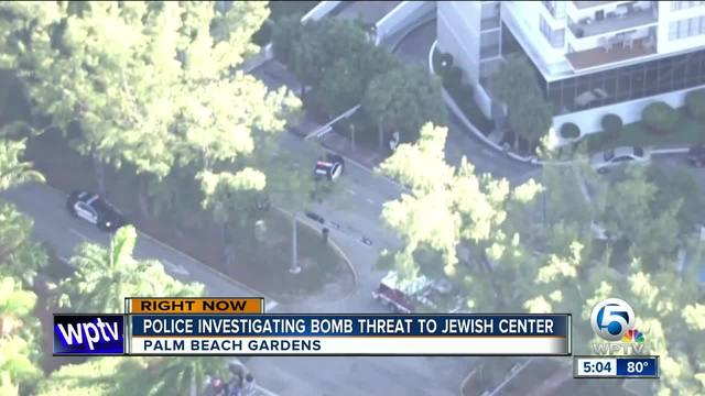 Bomb scare over all clear given at mandel jewish community center in palm beach gardens for Palm beach gardens recreation center