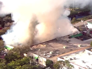 Warehouse fire in Ft. Lauderdale under control