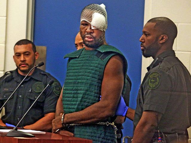 Accused Orlando cop killer curses at judge