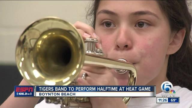 Boynton High Band To Play At Heat Game