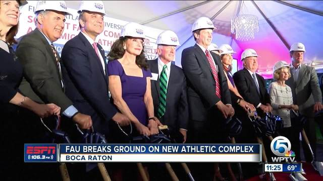 FAU Breaks Ground On New Athletic Complex
