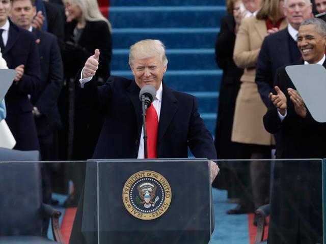 Mixed reaction on President Trump-s address