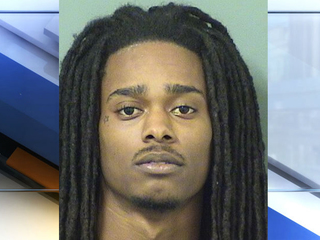 Stolen car crashes on I-95, leads to chase