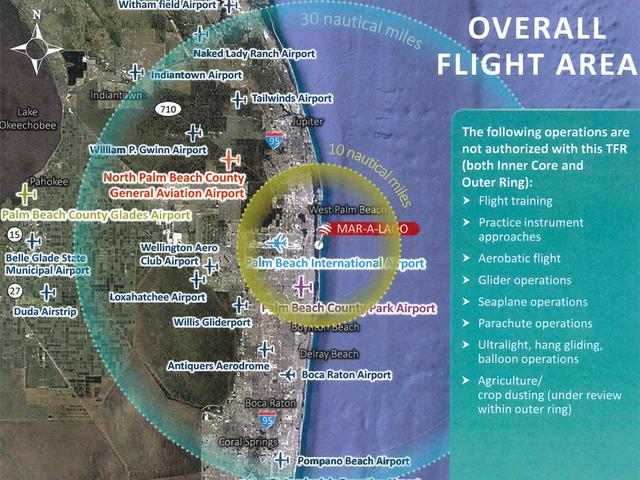 Trump visits to South Florida could impact several airports