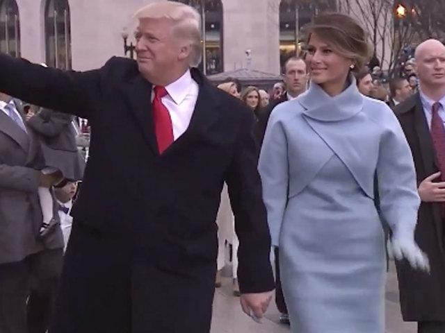 LIVE: Inaugural parade