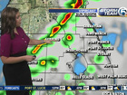Strong to severe storms Sunday night