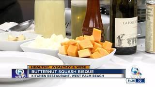 Butternut Squash Bisque recipe from 'Kitchen'