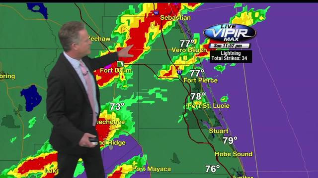 LIVE: Tornado warning Palm Beach Co.