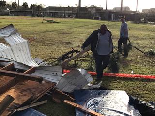 Dwyer High School hit by EF1 tornado
