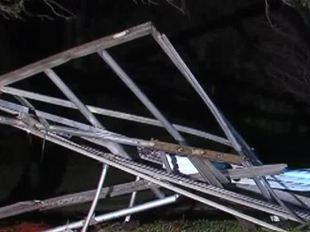 Dwyer High School closed Monday for -apparent tornado damage-