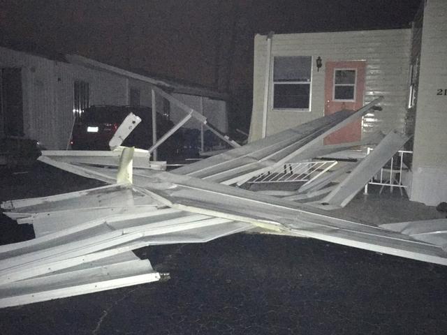 Nws confirms ef0 tornado hit juno beach damaging pier and - Palm beach gardens weather forecast ...