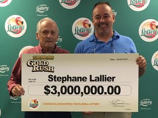 Delray Beach man wins $3 million in scratch-off