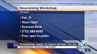 Downsizing Workshop on Feb. 11 in Stuart