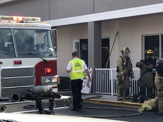 Fire damages meat shop in Port St. Lucie