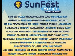 SunFest 2017 lineup announced
