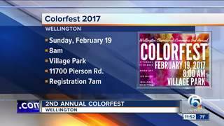 2nd annual ColorFest Feb. 19 in Wellington