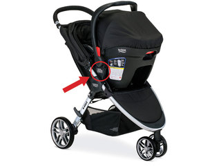 Britax strollers recalled due to fall hazard