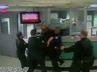 Fight between deputies caught on camera
