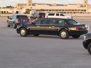 Road closures begin for president's visit