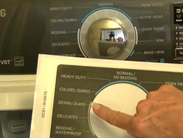 how to fix samsung washing machine