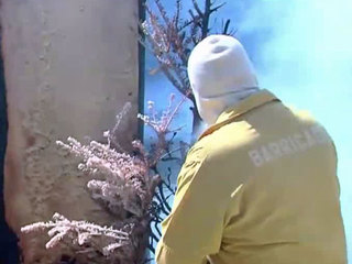 Retired firefighter touts fire gel technology