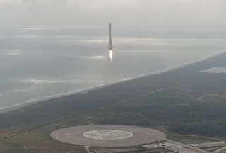 VIDEO: SpaceX rocket makes smooth landing