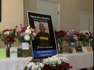 Pleas for help in Deputy Garry Chambliss' death