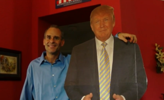 Boynton Beach man shares stage with Mr. Trump