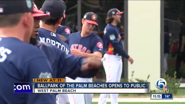 Spring training baseball back in West Palm Beach